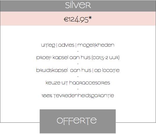 Silver roze