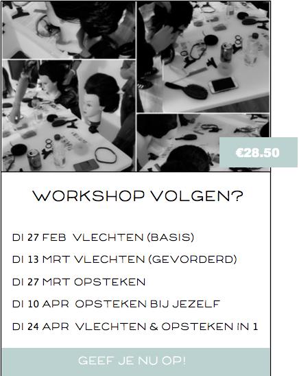 Workshop volgen?